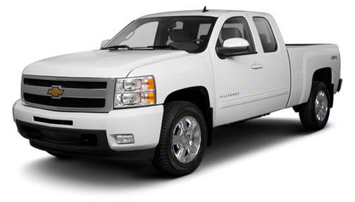 2010 Chevrolet Silverado 1500 4WD Ext Cab 157.5' Work Truck