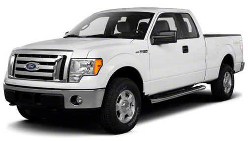 2010 Ford F150 4WD SuperCab 163' XLT w/HD Payload Pkg