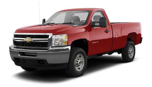 2011 Chevrolet Silverado 2500 4WD Reg Cab 133.7' Work Truck