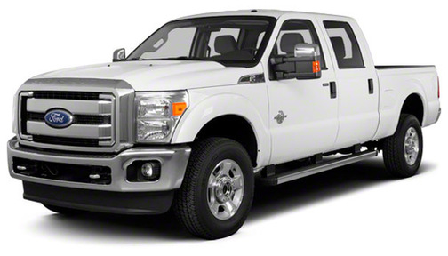 2011 Ford F350 2WD Crew Cab 172' King Ranch