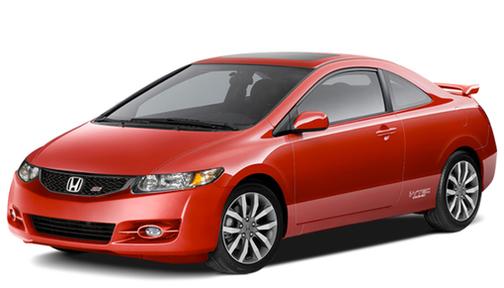 2011 Honda Civic 2dr Man Si w/Summer Tires