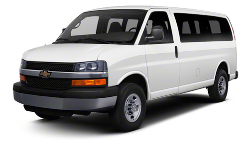 2012 Chevrolet Express 1500 AWD 1500 135' 1LT