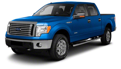 2012 Ford F150 2WD SuperCrew 157' Lariat w/HD Payload Pkg