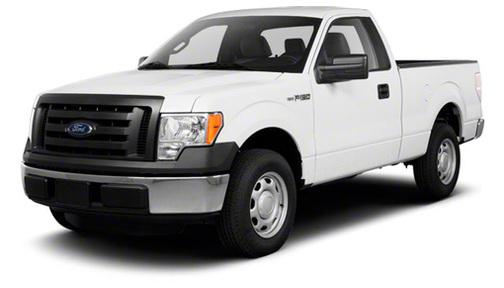 2012 Ford F150 4WD Reg Cab 145' XL w/HD Payload Pkg
