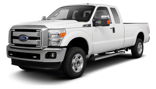 2012 Ford F250 2WD SuperCab 158' XL