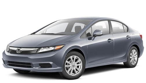 2012 Honda Civic 4dr Auto EX w/Navi PZEV