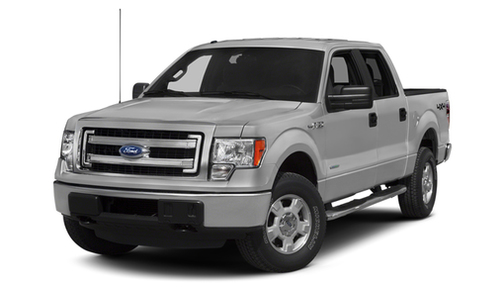 2013 Ford F150 2WD SuperCrew 157' XL w/HD Payload Pkg