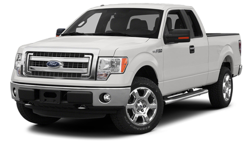 2013 Ford F150 4WD SuperCab 145' Lariat