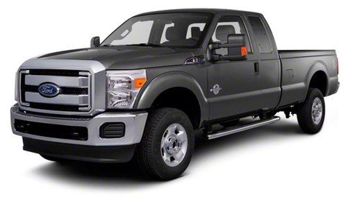 2013 Ford F350 2WD SuperCab 158' Lariat