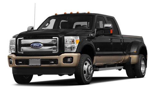 2013 Ford F350 2WD Crew Cab 172' King Ranch