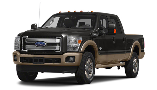 2013 Ford F350 2WD Crew Cab 156' King Ranch