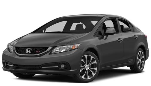 2013 Honda Civic 4dr Man Si w/Summer Tires