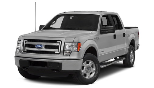 2014 Ford F150 4WD SuperCrew 145' XLT