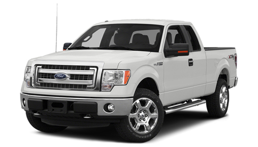 2014 Ford F150 2WD SuperCab 163' XLT w/HD Payload Pkg