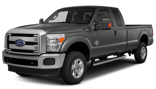 2014 Ford F350 4WD SuperCab 158' Lariat
