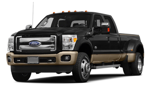 2014 Ford F450 4WD Crew Cab 172' King Ranch