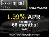 Texas Import Sales