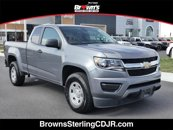 Used 2018 Chevrolet Colorado 4x4 Extended W/T