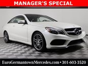 Used 2017 Mercedes-Benz E-Class Coupe