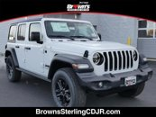 New 2020 Jeep Wrangler 4WD Unlimited Sport