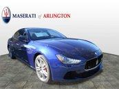 New 2017 Maserati Ghibli S Q4 w/ Sport Package
