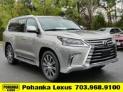New 2020 Lexus LX Models 4WD w/ 3rd Row & Luxury Pkg