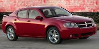 2009 Dodge Avenger model information