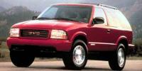 2001 GMC Jimmy model information
