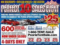 The Perfect 10 Sales Event