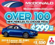 McDonald Mitsubishi