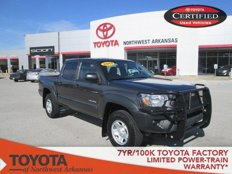 Used 2013 Toyota Tacoma 2WD Double Cab PreRunner for sale in Rogers, AR 72758