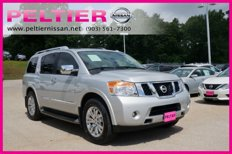 Certified 2015 Nissan Armada 2WD Platinum for sale in Tyler, TX 75701
