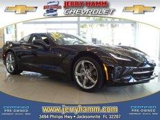Certified 2015 Chevrolet Corvette Coupe for sale in Jacksonville, FL 32207