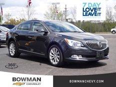 Certified 2014 Buick LaCrosse Leather for sale in Clarkston, MI 48346