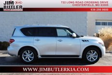 Used 2012 Infiniti QX56 4WD for sale in CHESTERFIELD, MO 63005