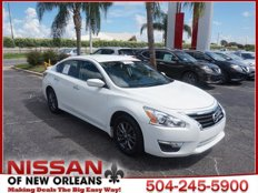 Certified 2015 Nissan Altima 2.5 S for sale in NEW ORLEANS, LA 70128