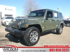 Used 2015 Jeep Wrangler 4WD Unlimited Rubicon for sale in FLOWOOD, MS 39232