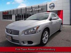 Used 2012 Nissan Maxima 3.5 SV for sale in Christiansburg, VA 24073