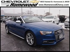 Used 2015 Audi S5 3.0T Premium Plus Cabriolet for sale in Homewood, IL 60430