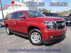 Certified 2015 Chevrolet Suburban 4WD LT for sale in Conway, SC 29526