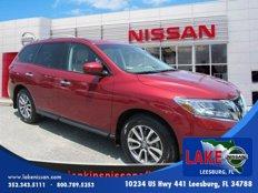Used 2014 Nissan Pathfinder SV for sale in Leesburg, FL 34788