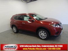 Certified 2016 Nissan Rogue S for sale in Fredericksburg, VA 22408