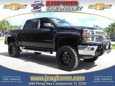 Certified 2014 Chevrolet Silverado and other C/K1500 4x4 Crew Cab LT for sale in Jacksonville, FL 32207