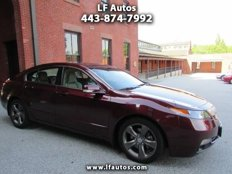 Used 2013 Acura TL SH-AWD w/ Technology Package for sale in Baltimore, MD 21211
