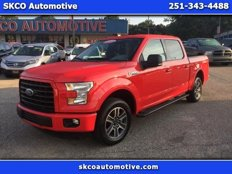 Used 2015 Ford F150 2WD SuperCrew XLT for sale in Mobile, AL 36608