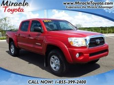 Used 2011 Toyota Tacoma 2WD Double Cab PreRunner for sale in Winter Haven, FL 33881