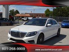 Used 2015 Mercedes-Benz S550 4MATIC Sedan for sale in Salt Lake City, UT 84115