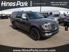 New 2017 Lincoln Navigator L 4WD Select for sale in Plymouth, MI 48170