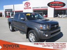 Used 2011 Toyota Tacoma 4x4 Double Cab for sale in Rogers, AR 72758