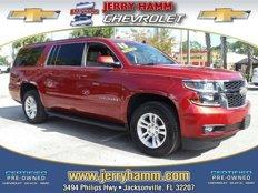 Certified 2015 Chevrolet Suburban 2WD LT for sale in Jacksonville, FL 32207